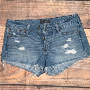 Abercrombie & Fitch Jean Shorts 28X3
